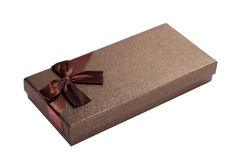 There bow Gift box Stock Image