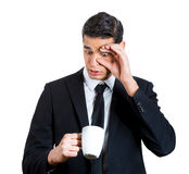 Is there coffee in here? Royalty Free Stock Images