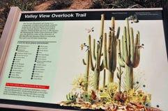 Saguaro national park arizona state usa marker stock photos