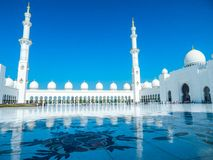 Jumeirah Mosque royalty free stock photos