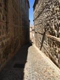 Alley of Toledo stock photography