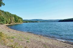Bennington vermont state usa lake paran. There is lake Paran ,which is right nearby of Bennington ,Vermont state , USA. Special fishing regulation , permit Stock Photos