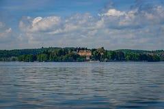 The Island of Mainau in Lake Constance stock image