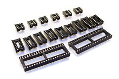 There are many different electronic circuits Stock Photo