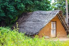 A POOR MAN & x27;S ABODE. There are millions of people living below property line. Often we come across people living on foot-paths by the e of busy highways, as royalty free stock photo