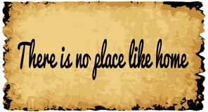 There Is No Place Like Home Royalty Free Stock Photos