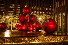 Christmas in New York City. There is no where better in the world to spend Christmas. No City does it better. Than New York City royalty free stock photos