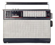 There is the old radio Stock Photo