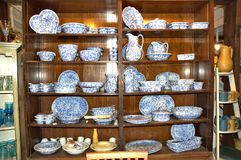 Bennington vermont state usa pottery house. There is one of the famous attraction of Bennington, State Vermont, USA as Pottery  House  with  active pottery right Stock Photo