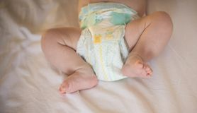 There`s nothing quite so sweet as tiny little baby feet royalty free stock photo