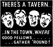 There's A Tavern Stock Photo