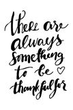 There is always something to be grateful for.  Royalty Free Stock Images