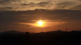 There& x27; tramonto di s in ogni alba Fotografia Stock Libera da Diritti
