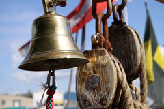 There was a bell too Royalty Free Stock Photos