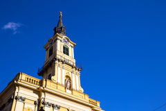 Theresa City Parish Church in Budapest Royalty Free Stock Photos