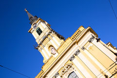 Theresa City Parish Church in Budapest Royalty Free Stock Photography