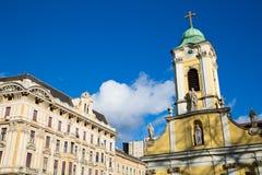 Theresa City Parish Church in Budapest Royalty Free Stock Photos