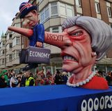 Theresa May está matando a la economía fotografía de archivo libre de regalías