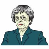 Theresa May. The Prime Minister of the United Kingdom Theresa May. London, UK. July 5, 2017 Stock Image