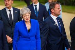 Theresa May, Primo Ministro del Regno Unito immagini stock