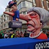 Theresa May tötet die Wirtschaft lizenzfreie stockfotografie