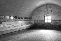 Theresienstadtconcentratiekamp in Czechia stock afbeelding