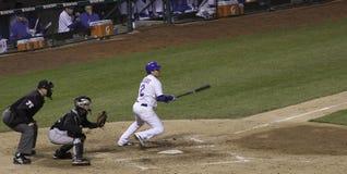 Бейсбол - Theriot и бежать! Стоковая Фотография