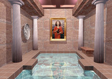 Thermae Royalty Free Stock Image