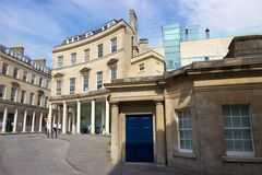 Thermae Bath Spa in Bath, England. Home to the United Kingdom's only natural hot springs Royalty Free Stock Images