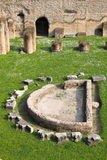 Thermae baths in Rome Stock Photo
