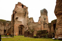 Thermae of Caracalla. Rome Italy Stock Photography
