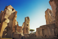 Thermae of Caracalla Royalty Free Stock Photo