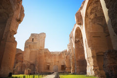 Thermae of Caracalla. Rome, Italy Royalty Free Stock Image