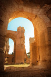 Thermae of Caracalla. Rome, Italy Stock Image