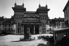 Thermae in Salsomaggiore. Italy Italia Royalty Free Stock Photos