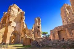 Thermae van Caracalla stock afbeelding