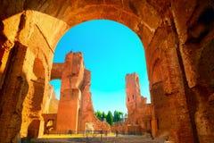 Thermae van Caracalla royalty-vrije stock foto
