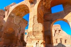 Thermae van Caracalla royalty-vrije stock afbeeldingen