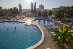 Thermal aqua park Royalty Free Stock Photos