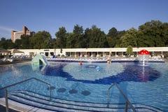 Thermal aqua park Royalty Free Stock Image