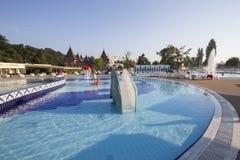 Thermal aqua park Stock Images