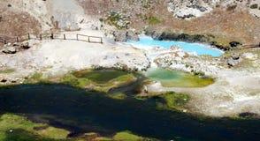 Thermal bath in California royalty free stock image