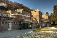 Thermal bath complex in Miskolctapolca, Hungary Royalty Free Stock Images