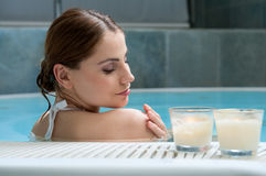 Thermal bath at spa club Stock Photography