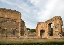 Thermal baths of caracalla, Rome Italy Stock Photography