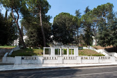 Thermal baths of Castel San Pietro Terme Royalty Free Stock Image