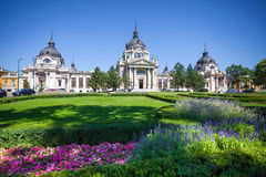 Thermal Baths and Spa, Budapest Royalty Free Stock Image