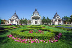 Thermal Baths and Spa, Budapest Royalty Free Stock Photography