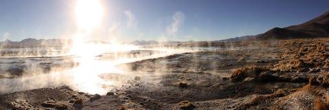 Thermal in Bolivien Lizenzfreie Stockfotos