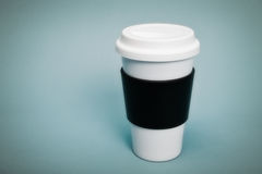 Thermal Coffee Cup Stock Photography